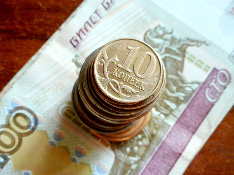 peníze z Ruska